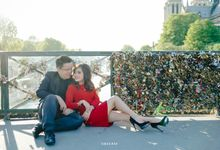 Engaged Antony & Doreen in Paris by Juvenco by Sheerss