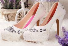 SLIGHT Sepatu Platform gloria Putih by SLIGHTshop.com
