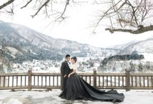 Septian & Ding Ding Prewedding Japan by eloise