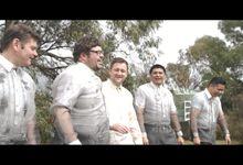 A Hobart, Australia Wedding - Destination Wedding by Sanchi Cinema