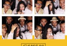 Chika Waode and Ajie Wedding by PIXLY BOOTH