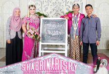 Shabrina & Risky wedding Day by The Caramel's Corner