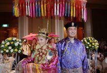Edmond & Shiji // Peranakan wedding // split day // holy matrimony // church wedding // next day edit wedding highlight by Teck Kuan // 2013 by The Next Chapter Film