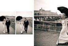 A Parisian Wedding - Lauren & Mitch by gm photographics