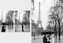 A romantic Parisian Wedding by gm photographics
