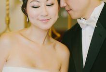 Stephanie and John by Milou + Olin Photography