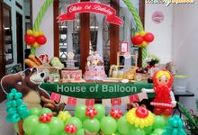 Decoration by House of Balloon