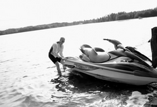 Jetski Wedding by Kentsdottir Art & Production