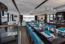 Yacht Charter for Memorable Wedding by Eagle Wings Yacht Charters Pte Ltd