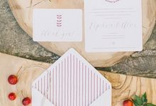 MARSALA WEDDING INSPIRATIONAL by Atelier Invitations