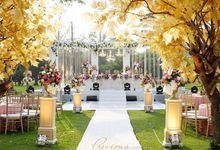 Romantic Elegance Wedding by Precious Event Design