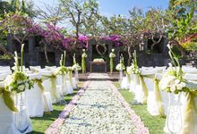 Garden Wedding by The St Regis Bali Resort