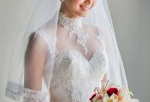 Stacey & Oscar Wedding by Lona Makeup
