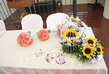 Sunny Wedding by Tree House Flowers & Gifts
