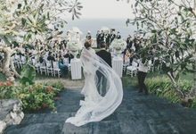 SUNSET BY THE CLIFF by The Wedding Atelier