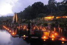 ROMANTIC WEDDING by TIRTA AYU HOTEL, TIRTAGANGGA - THE WATER PALACE