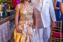 Afternoon Reception of TJ and Sonia by Michelle Alphonsa