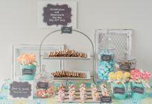 Basic Candy Bar by The Lair Weddings Candy Bar