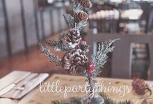 Christmas Lunch Celebration by Little Party Things