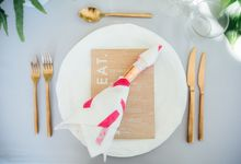 Wooden Menus by Peep Designs