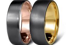 Tantalum Ring Range by Grew & Co
