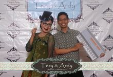 the wedding of Tery & ardy by The Caramel's Corner