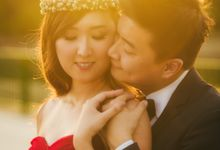 Engagement Shoot for Terence and Huiling by Susan Beauty Artistry