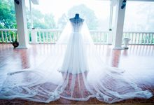 Wedding Gown for Janet Beninsig by Bessie Besana Atelier