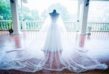 Wedding Gown for Janet Beninsig by Bessie Besana Atelier