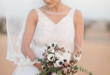 Desert Wedding by The Wedding Haven