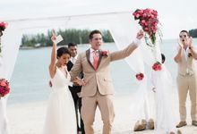 Vibrant Wedding of Roy and Pek Yee by The Danna Langkawi