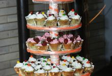 Wedding Cupcakes by Pansy Cakery