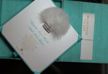 Silk Box Invitations by Ink and Elegance