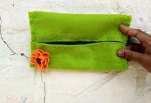 Tissue Pouch by Felix Souvenir
