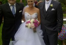 Kurt and Gillian wedding by The Happy Wedding Celebrant & MC