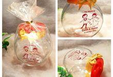 souvenir gelas by Juragan Souvenir