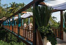Treetop Wedding at Four Seasons Sayan by Four Seasons Resort Bali at Jimbaran Bay