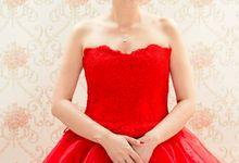 When in doubt wear RED by Rose Jewellery