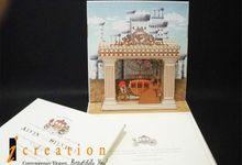 3 Dimensional Wedding Invitation by Icreation