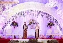 wedding of Ayu & Ageng by UKETSUKEART