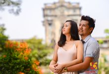 Christia and Mikel Valentine's shoot by Square Light Studio