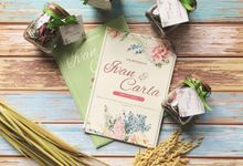 IVAN & CARLA WEDDING INVITATION by Paperstory