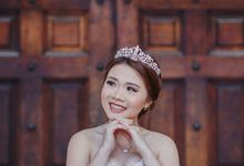 Prewedding makeup by Lydia Merry Makeup Artist