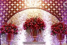 Oriental Love Story by Orchid Florist and Decoration