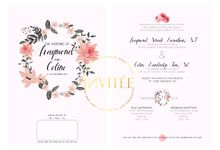 Raymond and Celine Wedding by INVITEE CARD