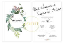 Obed and Aileen Happily Ever After Story by INVITEE CARD