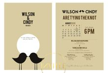 Wilson & Cindy Wedding by INVITEE CARD