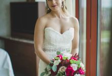 Blush and Merlot Resort wedding by Events In Bloom