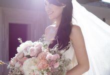 Vania Larissa & Wilson Pesik Wedding by Lona Makeup