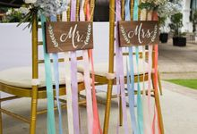 Watercolour Garden Wedding by Invited